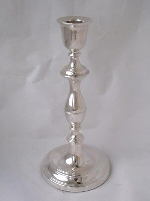 Smart Tall Sterling Silver Candlestick 1998/ H 20.5 cm/ FILLED