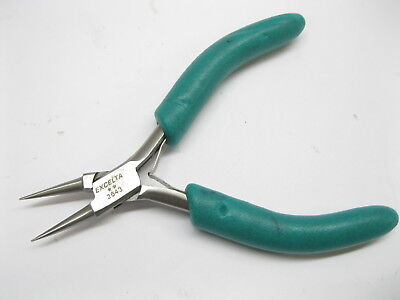 """Excelta Stainless Steel 5"""" Round Nose Pliers 2643"""