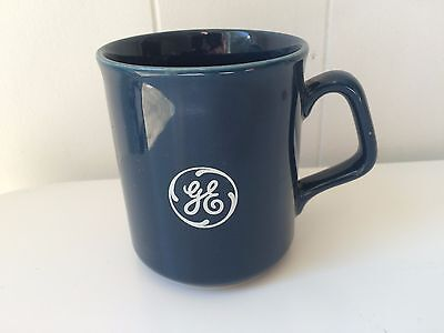 GE Coffee Mug VTG  General Electric OLD D HANDLE MADE IN ENGLAND