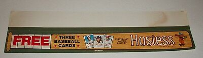 1970's Hostess Cakes Baseball Cards Store Sign twinkies w/ Reggie Jackson