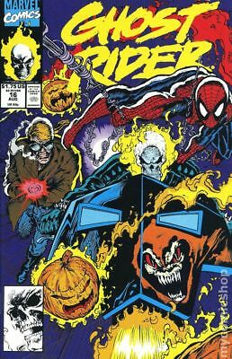 Ghost Rider (2nd Series) #16 1991 VG Stock Image Low Grade