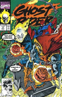 Ghost Rider (2nd Series) #17 1991 FN Stock Image