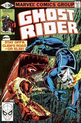 Ghost Rider (1st Series) #51 1980 VF Stock Image