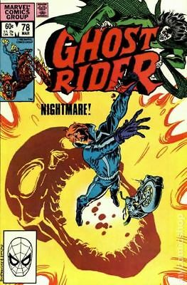 Ghost Rider (1st Series) #78 1983 VF Stock Image