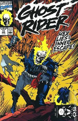 Ghost Rider (2nd Series) #11 1991 VF Stock Image