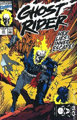 Ghost Rider (2nd Series) #11 1991 FN Stock Image