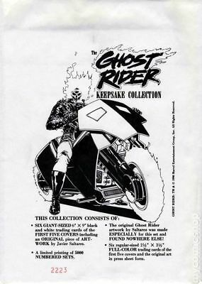 Ghost Rider Keepsake Collection #0 1990 VG Stock Image Low Grade