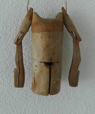 Old Cambodian Bamboo Cow Bell