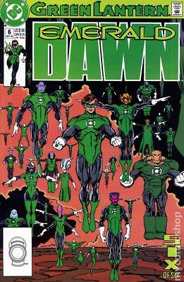 Green Lantern Emerald Dawn I #6 1990 FN Stock Image