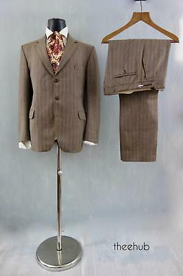 2 Piece Suit Elegant Luxurious Check Summer Wool Cloth Reid & Taylor by Magee