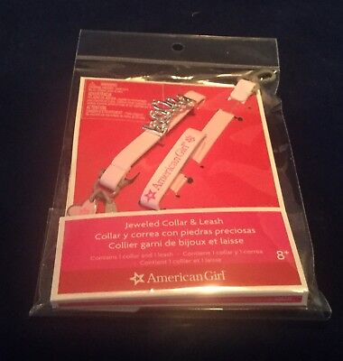 American Girl Jeweled Pet Collar and /& Leash Set princess PLUS Himalayan Cat NEW