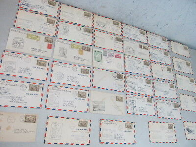 Nystamps Canada old BOB Air mail stamp cover collection with better