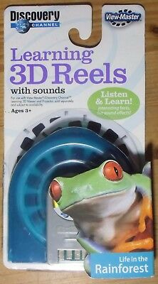 View-Master 3D Reels With Sound   Life In The Rainforest   Neu - Ovp