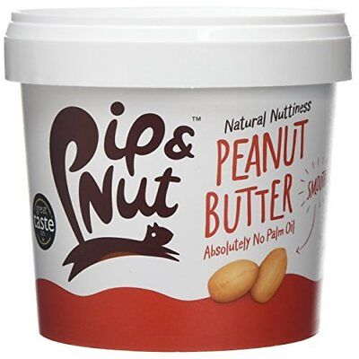 Pip & Nut Peanut Butter, 1 kg(Pack of 2)