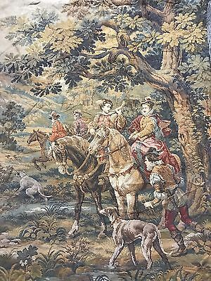 Antique French Tapestry - 106 By 147 Cm