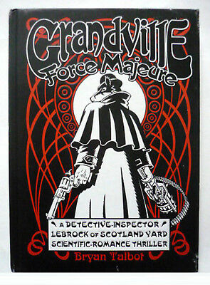BRYAN TALBOT - Grandviille Force Majeure - UK HB 1st Edition+Publisher's Flyer