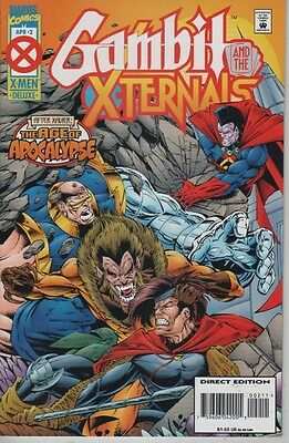 Gambit And The Xternals The Age Of Apocalypse #2 comic book After Xavier X-Men