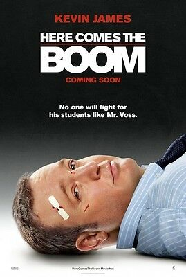 Here Comes the Boom - original DS movie poster - D/S 27x40 Advance