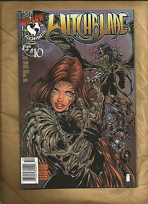 Witchblade  10 VFN/NM 1996 1.95 rare cover price variant Image Comics US Comics