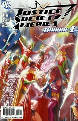 Justice Society of America (3rd Series) Annual #1 2008 VF Stock Image