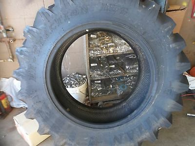 TWO 13.6X28,13.6-28 FORD DEERE 4 Ply R 1 Bar Lug Titan Tubeless Tractor Tires