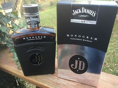 JACK DANIELS Monogram signed by MD Jeff Arnett & MT Jeff Norman With Box LOOK