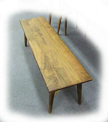 Sixties 1500x450 Antique Oak Solid Mango Timber Bench - BRAND NEW