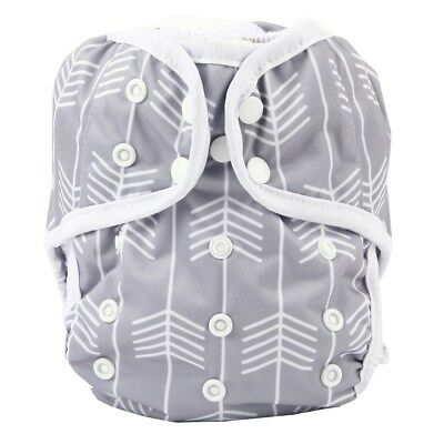 Baby Diaper Cover Nappy Cover Double Gussets Reusable One Size Arrow