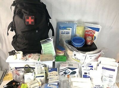 Tactical Expedition First Aid Package Fully Stocked Prepacked Ready2Deploy BLK