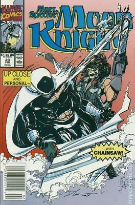 Marc Spector Moon Knight #23 1991 FN Stock Image