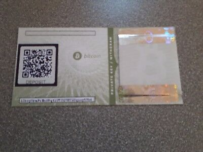 Rare 2013 Bitcoin Paper Wallet Loaded With Bitcoins  Bitcoincash And Bitcoingold