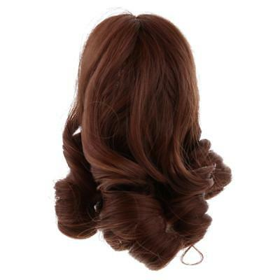 Curly Hair Hairpiece Wig for 18'' American Girl Doll Cosplay Supplies