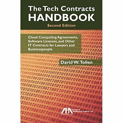 The Tech Contracts Handbook: Cloud Computing Agreements - Paperback NEW David W.