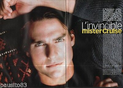 Coupure de presse Clipping 2000 Tom Cruise   (4 pages)