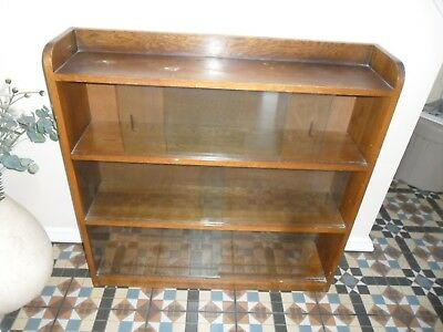 Solid oak bookcase (1950's)