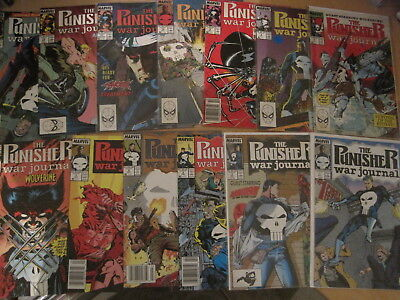 PUNISHER WAR JOURNAL : COMPLETE  RUN of issues 1 - 25 of the 1988 Marvel SERIES