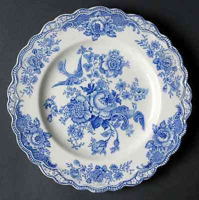 Crown Ducal BRISTOL BLUE Luncheon Plate 91505