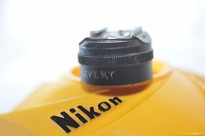 Nikon AS-1 Flash adapter for F F2 camera with standard ISO flash