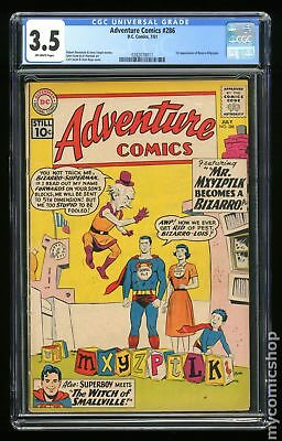 Adventure Comics (1st Series) #286 1961 CGC 3.5 0282078011