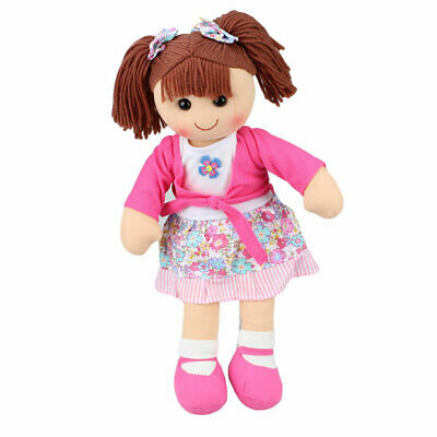 "Hopscotch Rag Doll Emma 14""/35cm cloth doll soft toy NEW"