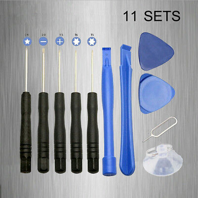 11 in1 Mobile Opening Repair Tools Kit Set Pry Screwdriver For iPhone Cell Phone