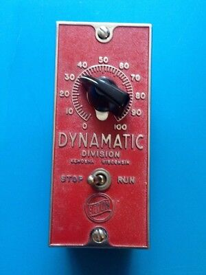 Vintage EATON DYNAMATIC 28-91-3 Torque Speed Control Box Switch