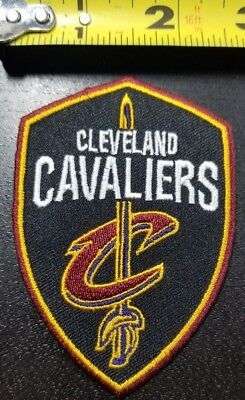 Fan Apparel & Souvenirs Sports Mem, Cards & Fan Shop Cleveland Cavaliers NBA 4.75 Iron/Sew On Patch ~FREE SHIPPING FROM THE U.S.~