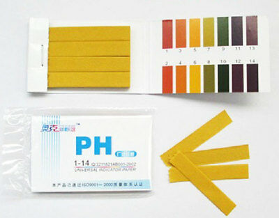 800 PH Paper Strips Litmus Water Tester For Tropical Aquarium Fish Tank AK179