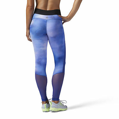 Brand New $75 Reebok Women's Techspiration Print Legging
