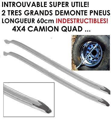 Introuvable Top Utile ! 2 Tres Grands Demonte Pneus 60Cm 4X4 Camion Quad Auto