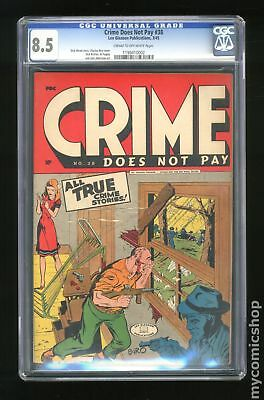 Crime Does Not Pay #38 1945 CGC 8.5 1199410002