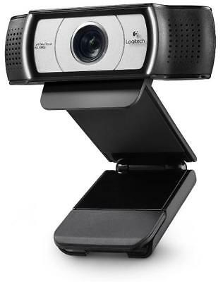Logitech Webcam C930e HD 1080p Video and 90-degree Field of View