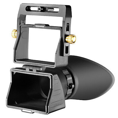 """Neewer Universal Camera 2.5x LCD Viewfinder for 3"""" 3.2"""" Screen Canon Nikon Sony"""