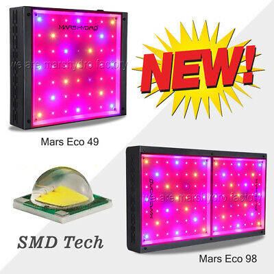 MarsHydro ECO 245W 490W Full Spectrum LED Grow Light Hydroponics Zimmerpflanzen